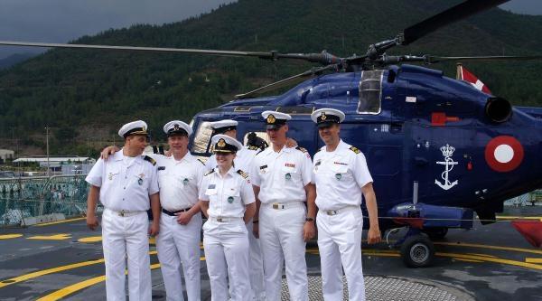 Nato Daimi Deniz Görev Grubu-1'de Devir Teslim Töreni