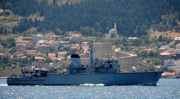 Nato Gemileri Çanakkale Boğazı'nda