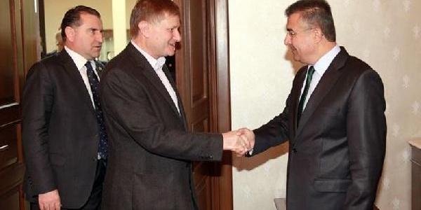 Nato Parlamenter Asamblesi Başkani Bayley Hatay'da