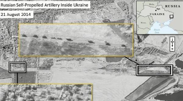 Nato, Ukrayna'ya Giren Rus Birliklerinin Uydu Görüntülerini Yayınladı