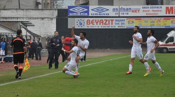 Nazilli Belediyespor-Kizilcahamamspor: 1-1