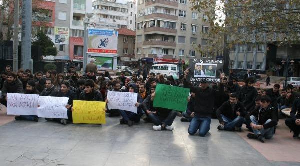 Nazilli'de Yüksekova Olaylari Protesto Edildi