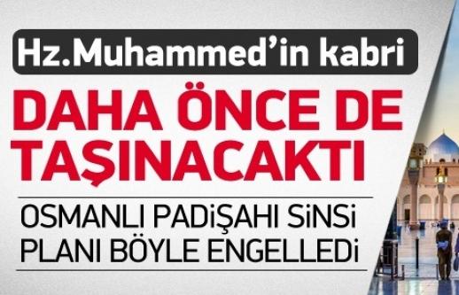 Hz Muhammed'in kabri 5 asır önce yok edilmek istenmiş
