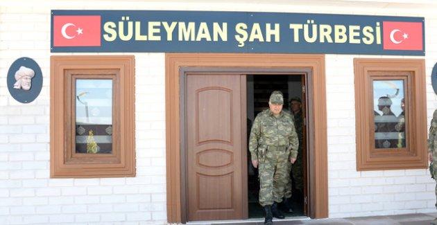 Necdet Özel, Süleyman Şah Türbesini Ziyaret Etti