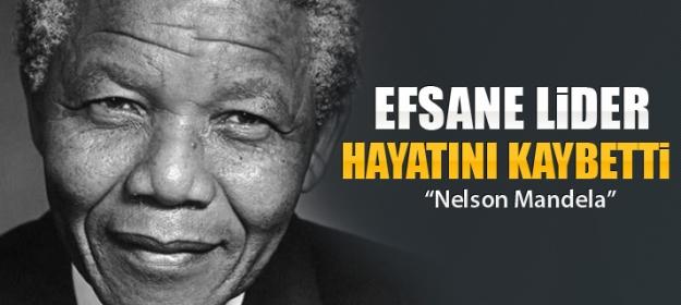 Nelson Mandela Hayatını Kaybetti!