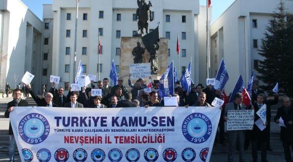 Nevşehir'De Devlet Memurlari Bordro Yakti