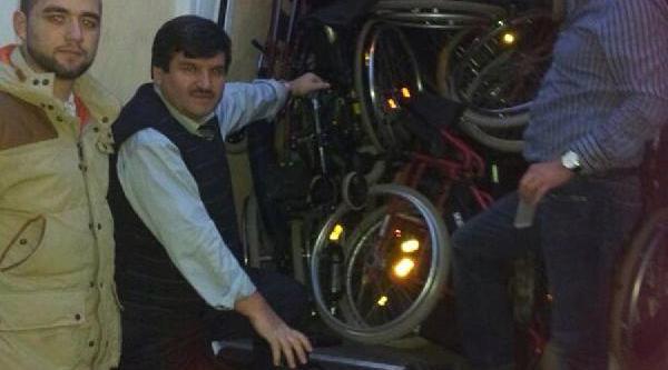 Nevşehir'deki Engellilere 1 Tir Dolusu Yardim