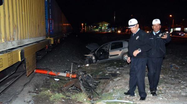 Niğde'de Tren Kazası