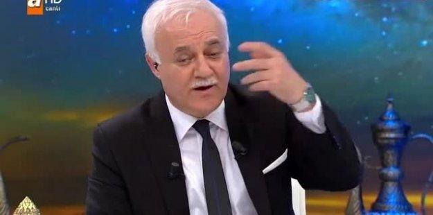 Nihat Hatipoğlu'na şok banyo sorusu!