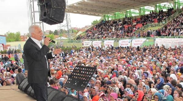 Nihat Hatipoğlu'nu Ağrı'da 7 Bin Kişi Dinledi