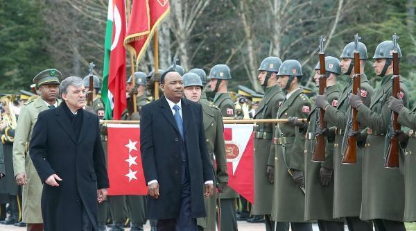 Nijer Cumhurbaşkanı Ankara'da