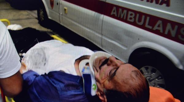 Nikahsız Eşini Satırla Yaraladı, Öldüğünü Düşünerek 4'üncü Kattan Atladı