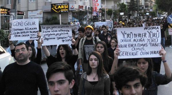 Nilüfer'de Soma Protestosu
