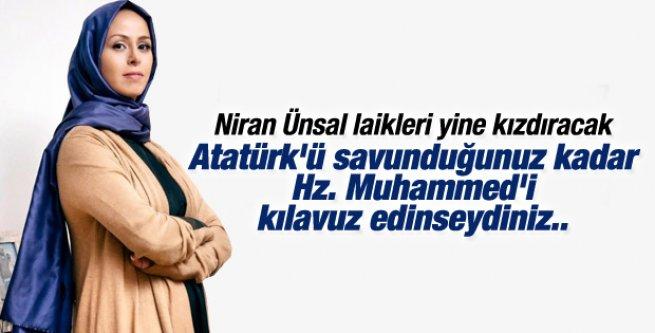 Niran Ünsal: Atatürk'ü putlaştırıyorlar