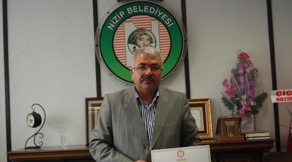 Nizip Belediye Başkanı Akdoğan Mazbatasını Aldı