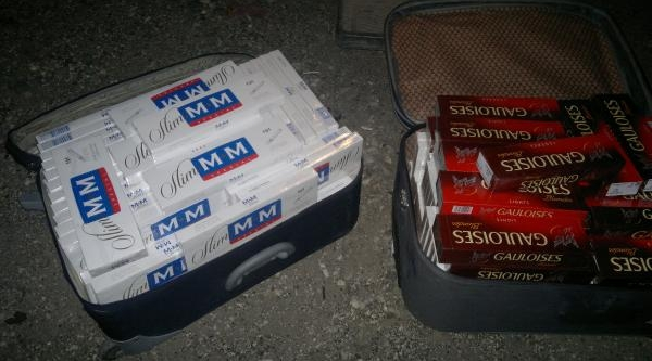 Nizip'te 10 Bin Paket Kaçak Sigara Ele Geçirildi