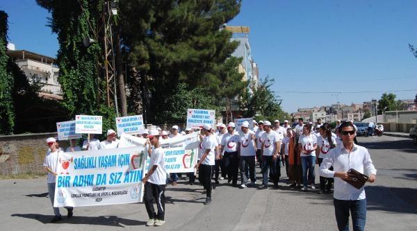 Nizip'te Sağlıklı Yaşam Yürüyüşü