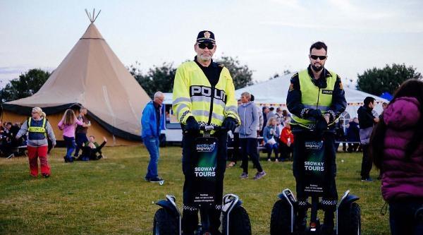 Norveç Polisine 'segway 4.0'