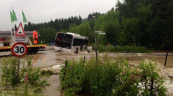 Norveç Sular Altında Kaldı