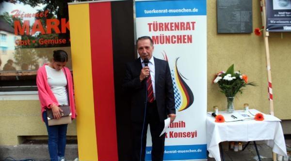 Nsu Kurbanı Habil Kılıç, Münih'te Anıldı