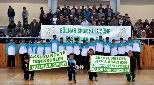 Nükleer  Santral Şirketi, Amatör Gülnarspor'a Sponsor Oldu
