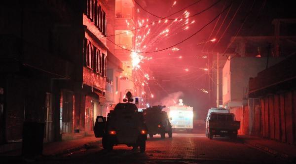 Nusaybin'de Protesto Yürüyüşünde Olay