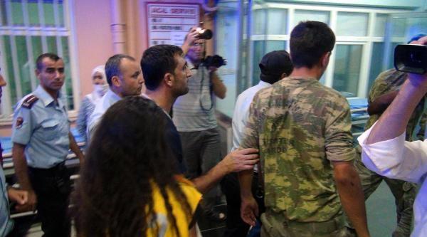 Nusaybin'de Suriyeli Kampında Kavga: 7'si Asker 13 Yaralı