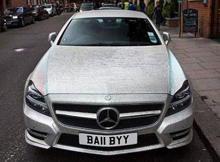 O araba satılık!