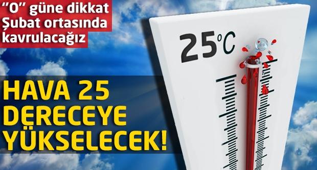O gün sıcaklık rekoru kırılacak!