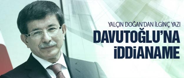 O iddianame aslında Davutoğlu'na yazıldı