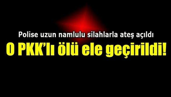 O PKK'lı ölü ele geçirildi!