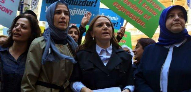 O protestoya Sümeyye Erdoğan da katıldı!