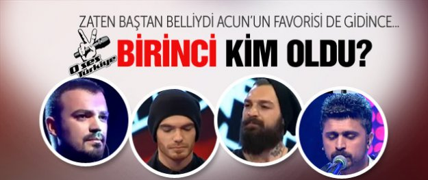 O Ses Türkiye - Kazanan Elnur Hüseynov oldu