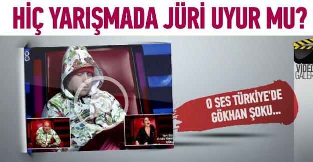 O Ses Türkiye'de Gökhan uyurken yakalandı!