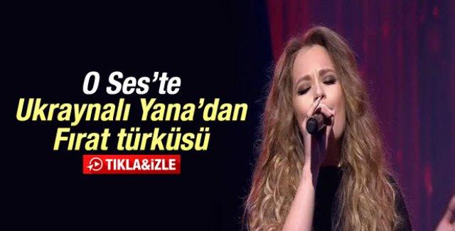 O Ses Türkiye'de Ukraynalı Yana'dan Fırat Türküsü - İzle