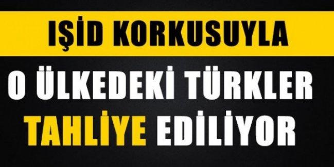 O ülkedeki Türkler tahliye ediliyor