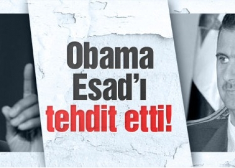 Obama'dan Esad'a: Sizi vururuz!
