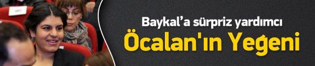 Öcalan'ın yeğeni Baykal'a yardımcı olacak
