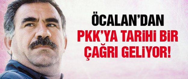 Öcalan'dan PKK'ya tarihi çağrı geliyor!