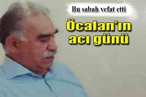 Öcalan'ın ablası hayatını kaybetti