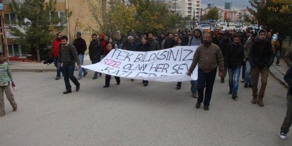 Odtü'de 'fidanini Kap Gel' Eylemi - Fotoğraflar