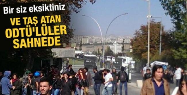 ODTÜ'de Kobani olayları