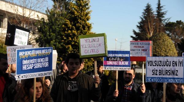 Öğrencilerden Hükümete Yolsuzluk Tepkisi