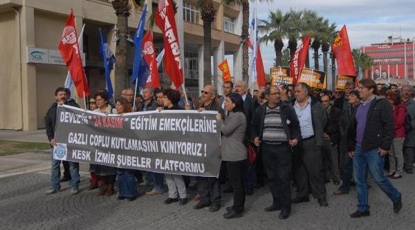 Öğretmenlere Müdahaleye Protesto