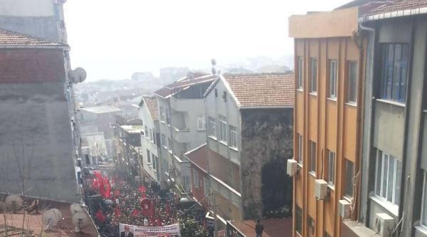 Okmeydanı Cemevi Çevresinde Binlerce Kişi Toplandı