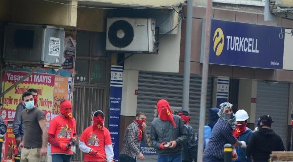 Okmeydanı'nda Eylemci Polis Kovalamacası