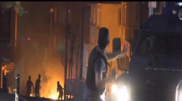 Okmeydanı'nda Göstericilere Polis Müdahalesi