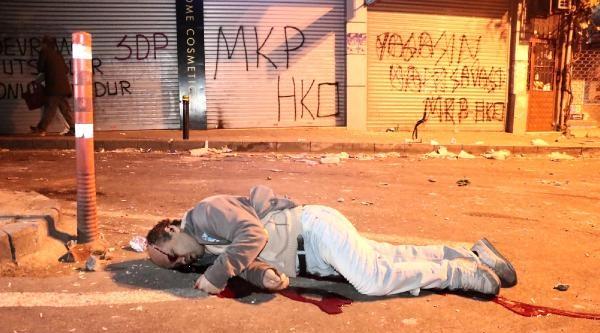 Okmeydanı'nda Yaralılar Var (fotoğraf)