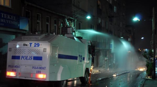 Okmeydanı'ndaki Molotoflu Gruba Polis Müdahalesi