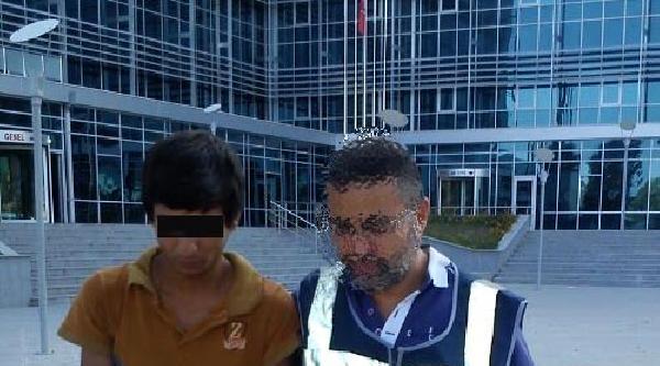 Okul Hırsızı Polisten Kaçamadı